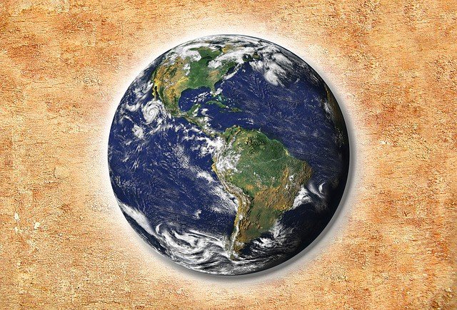 The four main spheres of earth hydrosphere biosphere lithosphere ball earth world globe ccuart Images