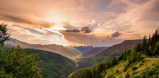 clouds-cloudy-conifers-dawn-valley