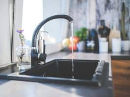 water-tap-black-faucet-kitchen-sink