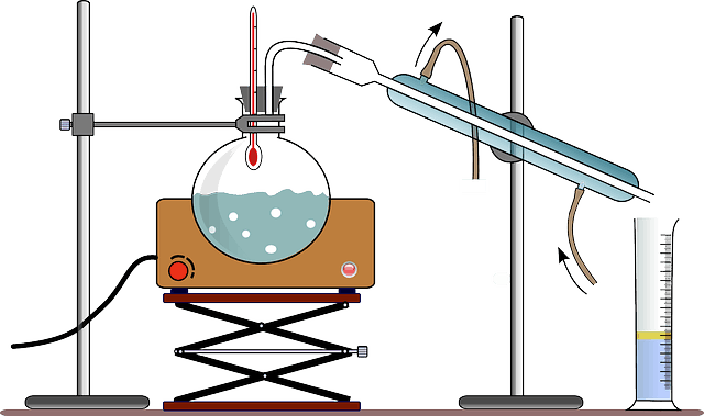 chemistry-distillation-experiment
