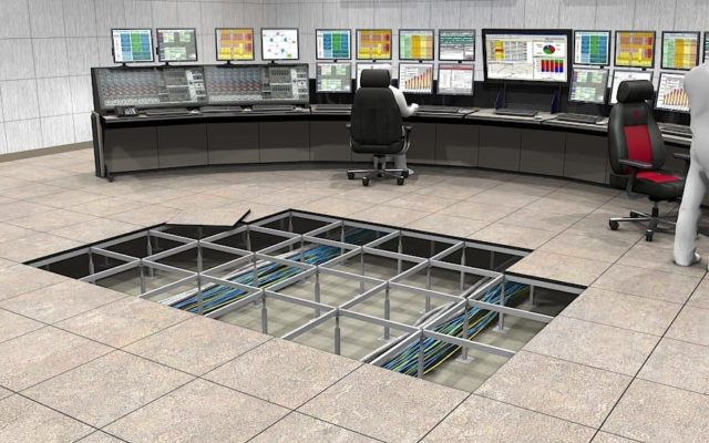 Underfloor-air-distribution